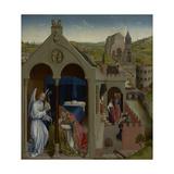 The Dream of Pope Sergius, C.1430 Giclee Print by Rogier van der Weyden