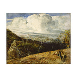 The White Cloud, C.1833-34 Giclee Print by Samuel Palmer