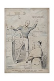 The Man Wot Will Steer His Own Vessel, 1830 Giclee Print by Robert Seymour