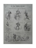 Mclean's Monthly Sheet of Caricatures, No. 20, 1831 Giclee Print by Robert Seymour
