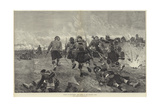 Battle of Tel-El-Kebir, the Charge at the Bayonet's Point Giclee Print by Richard Caton Woodville II