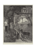 Haunted Giclee Print by Samuel Edmund Waller