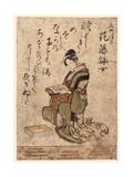 Hanafuji Eijo Giclee Print by Ryuryukyo Shinsai