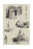Sketches from the Illustrated Naval and Military Magazine Giclee Print by Richard Caton Woodville II