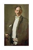 Self Portrait, C.1900 (Panel) Giclee Print by Samuel John Peploe