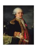 Portrait of the Comte De La Couldre De La Bretonniere Giclee Print by Robert Lefevre