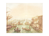 Seaham Harbour Giclee Print by Robert Mackreth