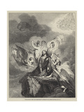 Our Saviour after the Temptation Giclee Print by Sir George Hayter