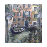 Venetian Backwater Giclee Print by Rosemary Lowndes