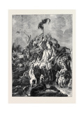 The Otter Speared Giclee Print by Edwin Landseer