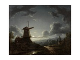 Landscape by Moonlight Giclee Print by Sebastian Pether