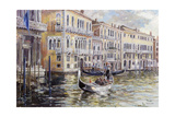 The Grand Canal in the Late Afternoon Giclee Print by Rosemary Lowndes