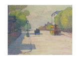 Adelaide Road in Sunlight, 1910 Giclee Print by Robert Polhill Bevan