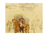 Studies for the Duke of Wellington (1769-1852) Giclee Print by Sir George Hayter