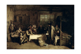 Distraining for Rent, 1815 (Panel) Giclee Print by Sir David Wilkie