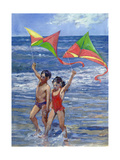 Kites Giclee Print by Rosemary Lowndes