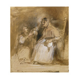 Benvenuto Cellini (1500-71) and Pope Paul II (1468-1579) Giclee Print by Sir David Wilkie