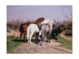 Relay Hunting, 1887 Giclee Print by Rosa Bonheur