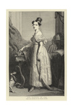 Her Majesty in 1836 Giclee Print by Sir George Hayter