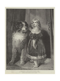 Princess Mary of Cambridge (Duchess of Teck) as a Child, in the Victorian Exhibition Giclee Print by Edwin Landseer