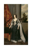 Henrietta Maria Giclee Print by Sir Anthony van Dyck
