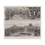 The Spanish-American War Reproduction procédé giclée par S.t. Dadd