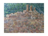 Pacentro, Abruzzi, Italy Giclee Print by Rosemary Lowndes