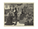 Fancy Bazaar in Aid of the National Hospital for Consumption, Ventnor Giclee Print by Robert Walker Macbeth