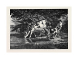 The Watering Place Giclee Print by Rosa Bonheur