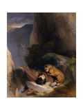 Attachment, 1829 Giclee Print by Edwin Landseer
