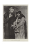Shylock and Jessica, in the Exhibition of the Royal Institute of Painters in Water Colours Giclee Print by Sir James Dromgole Linton