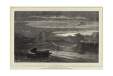 A Waif from a Missing Ship Giclee Print by Samuel Phillips Jackson