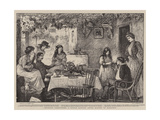 Spoiling Carbineers, a Little Luxury after Months of Hardship Giclee Print by Robert Walker Macbeth