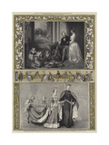 Her Majesty the Queen and the Prince Consort Giclee Print by Edwin Landseer