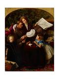 Peace Concluded, 1856 Wydruk giclee autor John Everett Millais