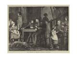 The Germans in Orleans, Friendly Advances Giclee Print by Robert Walker Macbeth