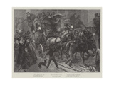 Old Coaching Days Giclee Print by Sir Frederick William Burton