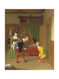 Dr Caius, Simple and Dame Quickly, Scene from the Merry Wives of Windsor, 1830 Giclee Print by Robert Walter Weir