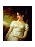 Miss Lamont of Greenock, C.1810-15 Giclee Print by Sir Henry Raeburn