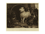Alexander and Diogenes Giclee Print by Edwin Landseer