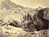 Source of the Ganges, India, C.1860-70 Photographic Print by Samuel Bourne