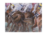 Longchamps Giclee Print by Rosemary Lowndes