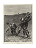 The Waterloo Cup Meeting, A Rare Handful Giclee Print by S.t. Dadd
