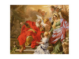 The Education of the Virgin, C.1715 Giclee Print by Sebastiano Conca