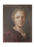 Self Portrait Giclée-tryk af Rosalba Giovanna Carriera
