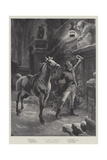 A Late Arrival Giclee Print by Sir Frederick William Burton