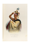 Soi-En-Ga-Rah-Ta or King Hendrick Giclee Print by Seth Eastman