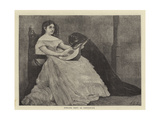 Adelina Patti as Desdemona Giclee Print by Sir James Dromgole Linton