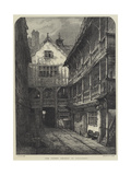 The Green Dragon in Chancery Giclee-trykk av Samuel Read