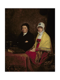The Artist's Parents, 1813 (Panel) Giclee Print by Sir David Wilkie